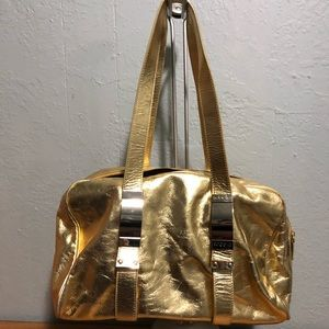 Sobella Gold Leather Bag
